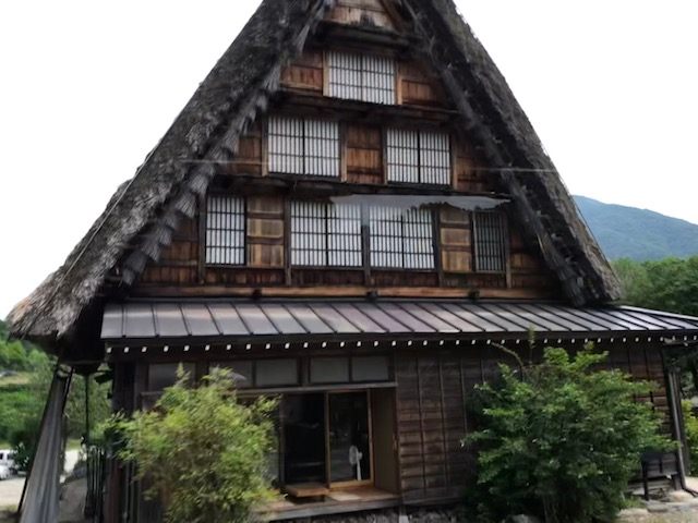 Shirakawa-go Village House Front